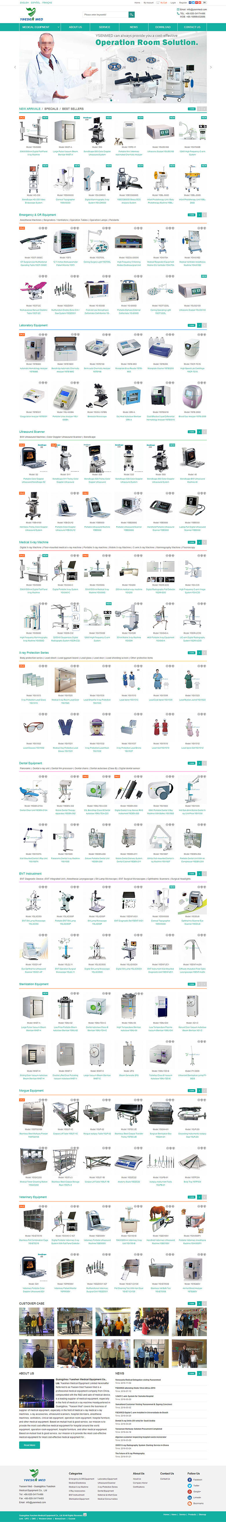 Guangzhou Yueshen Medical Equipment Co., Ltd